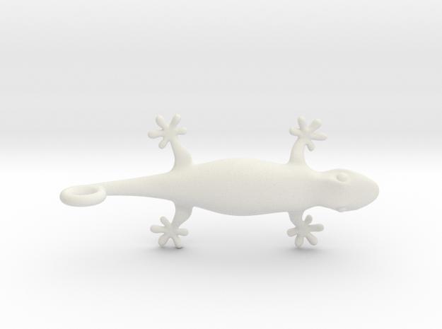 Gecko 1611071836 in White Natural Versatile Plastic