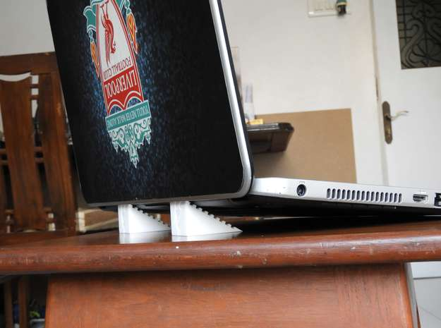 Lanptop Stand Hodor in White Strong & Flexible