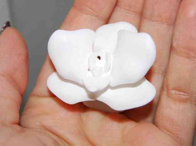 Orchid ring 3d printed