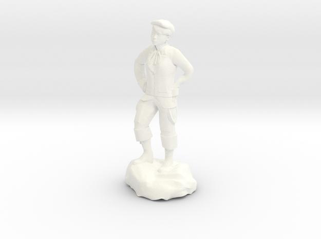 Billy, the demonic kid, in urchin attire. in White Processed Versatile Plastic