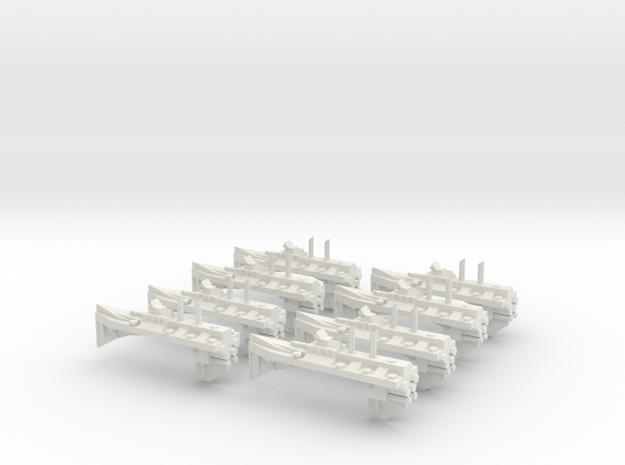 BFG Pre Heresy Iconoclass Destroyer in White Natural Versatile Plastic