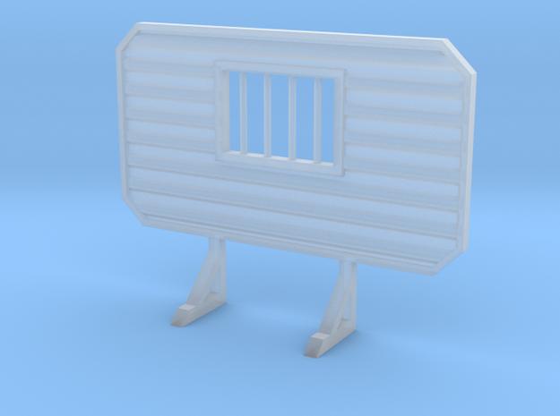 1/87 HO headache rack with window and bars