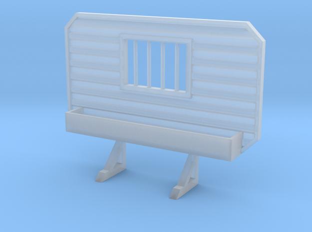 1/87 HO headache rack window with tray