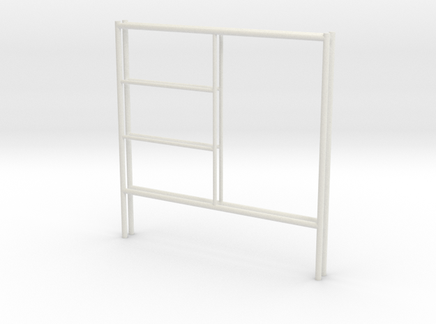 1:24 Step Frame 60x60 in White Natural Versatile Plastic