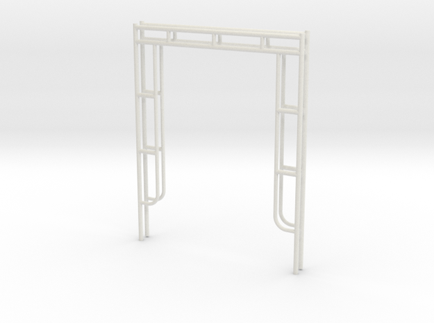 1:24 End Frames 60x76 in White Natural Versatile Plastic
