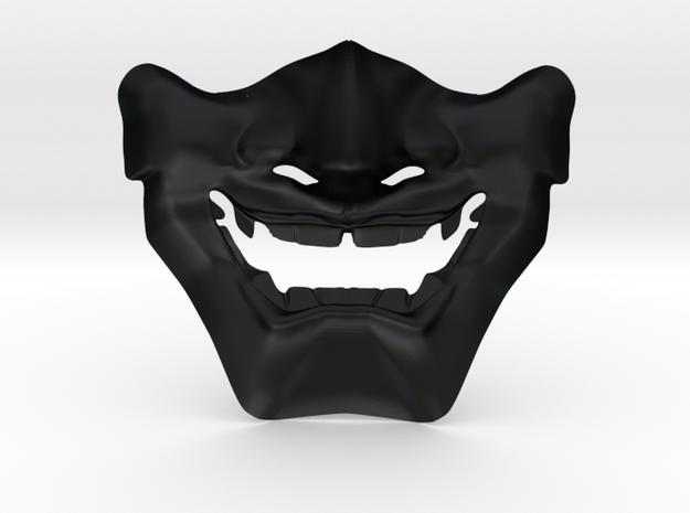Samurai Mask High Quality in Black Hi-Def Acrylate
