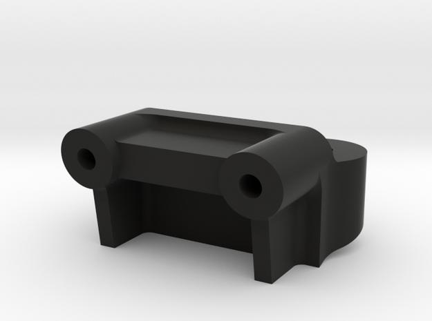 Tamiya Grasshopper, Hornet 3rd-shock-mount convers in Black Natural Versatile Plastic