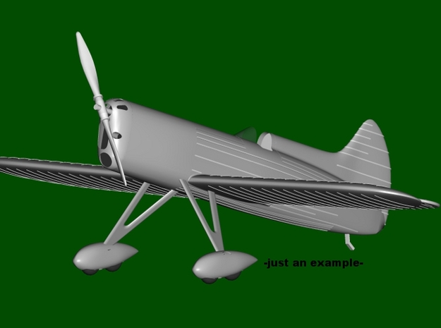 """DGA-5 """"IKE"""" #39, Tandem landing gear, scale 1/144  in Frosted Ultra Detail"""