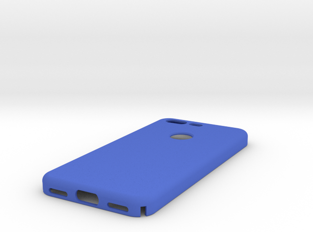 Google Pixel Case in Blue Strong & Flexible Polished