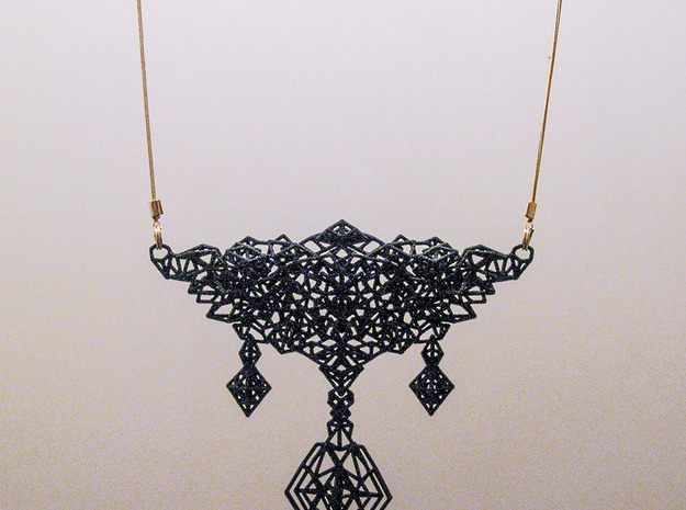 Pendant_top_moja in Black Natural Versatile Plastic