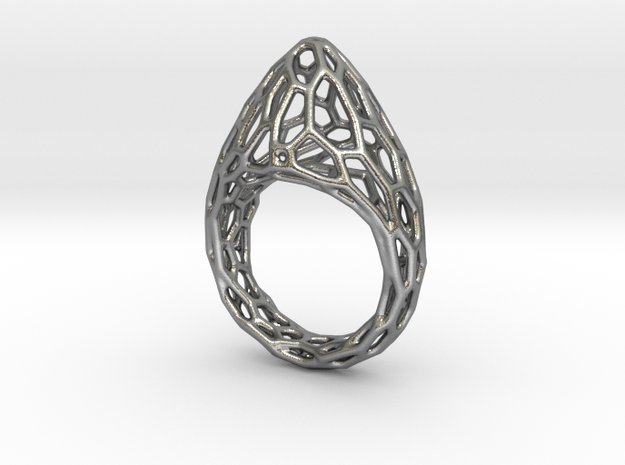 Ring Fluorescent in Natural Silver