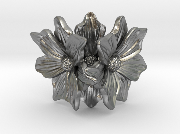 Flower of love in Natural Silver: 7 / 54