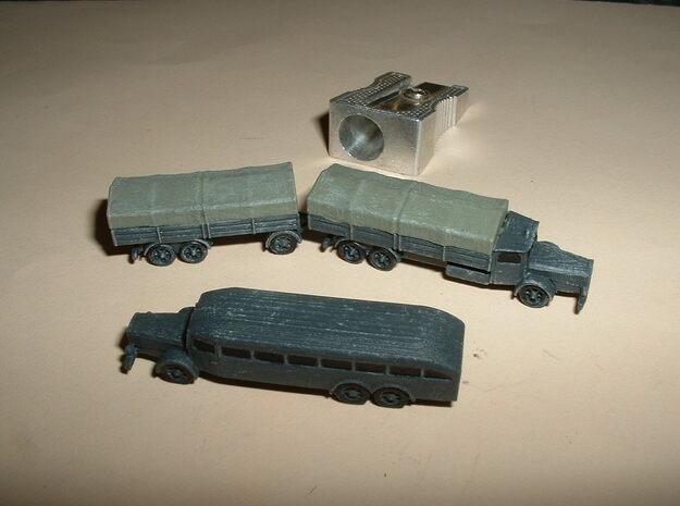 German VOMAG Bus, Truck and Trailer 1/285 6mm