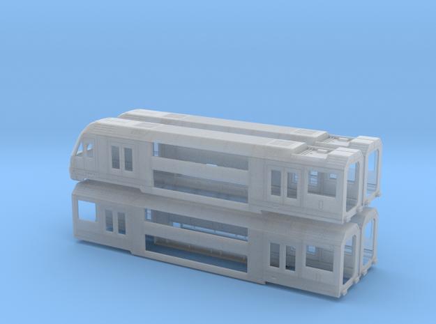 N04A - A-Set Waratah - N Scale 3d printed