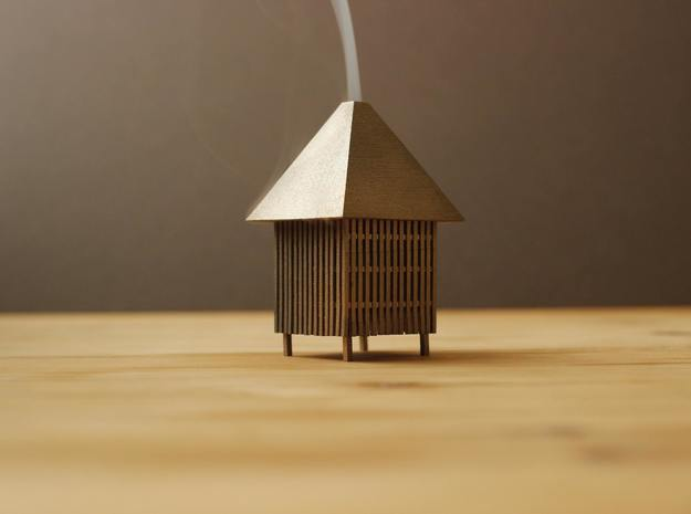 Smoke House in Stainless Steel