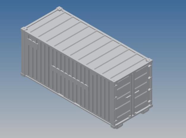 Oelwehr Container Schleswig-Holstein in 1:87 3d printed