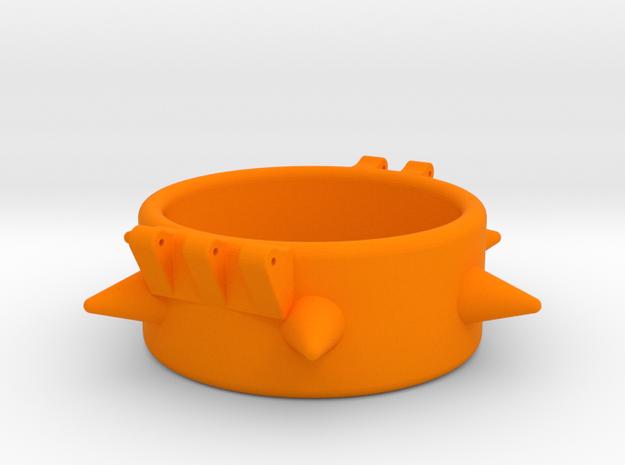 Ccage-6 Spike 41-20 in Orange Processed Versatile Plastic