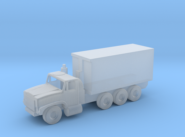 1/144 Scale Oshkosh MTVR 16 Ton Container Truck in Smooth Fine Detail Plastic