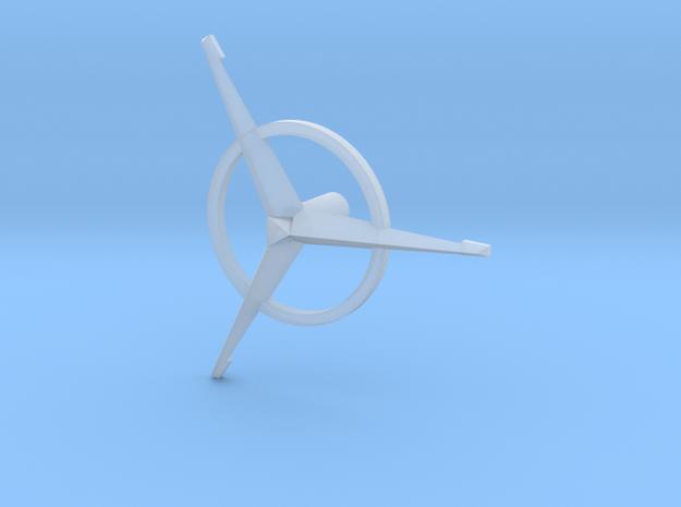 Bridge - Helm Nav Station Astrogator Spinner 09 in Smooth Fine Detail Plastic