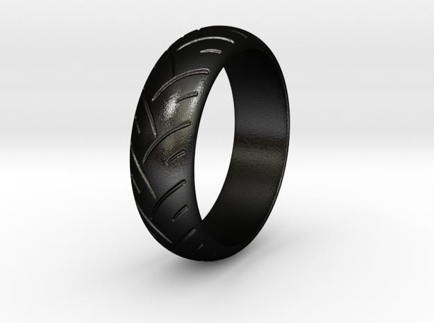Victor F. - Ring in Matte Black Steel: 6 / 51.5