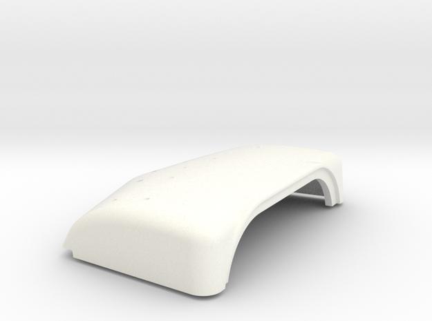 1/24 Peterbilt Unibilt Daycab Highroof  in White Processed Versatile Plastic