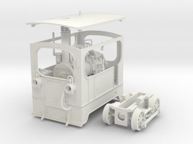 1:45 Tramway loco (complete) Backer & Rueb 3d printed