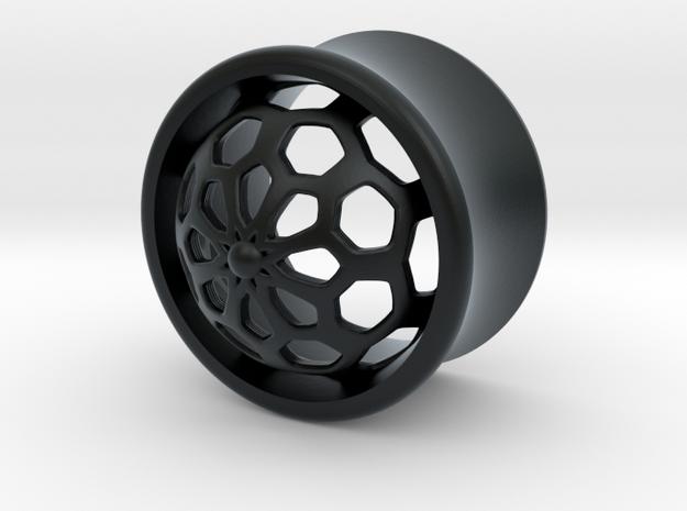 VORTEX1-16mm in Black Hi-Def Acrylate