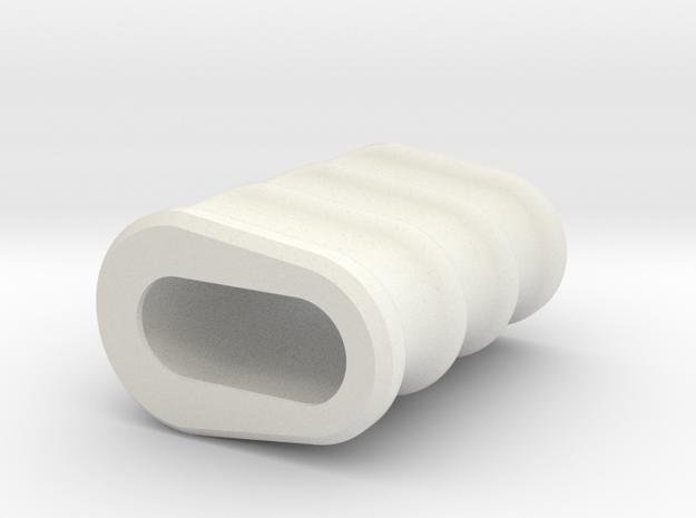 Noisy Cricket Grip for the Wismec Noisy Cricket in White Strong & Flexible