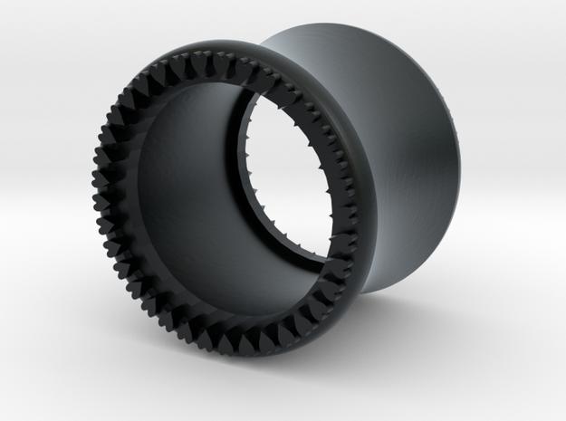 VORTEX10-11mm in Black Hi-Def Acrylate