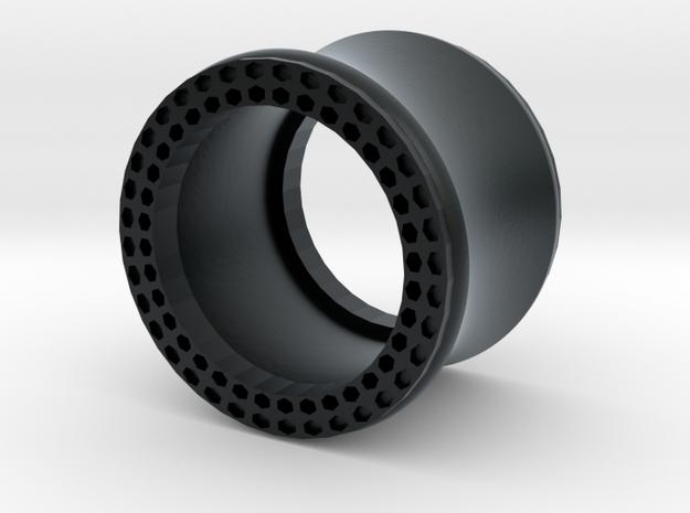 VORTEX11-13mm in Black Hi-Def Acrylate