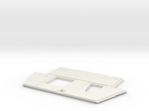 Glassic Plate 264 in White Natural Versatile Plastic