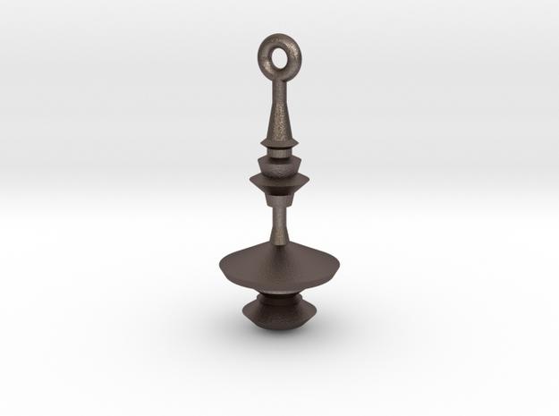 Waveform Keychain / soundwave jewelry 3d printed