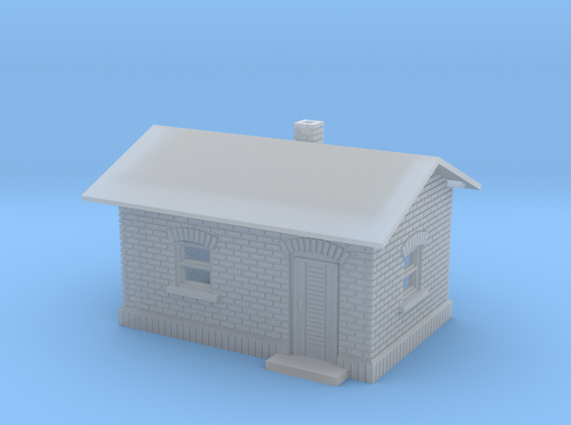 Gatekeeper house Z scale 3d printed