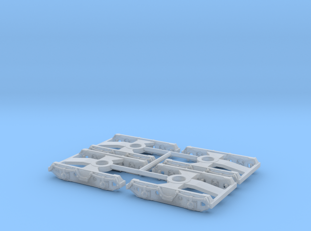 7142 N 4 Drehgestelle Minitrix KKds 55 und Kesselw 3d printed