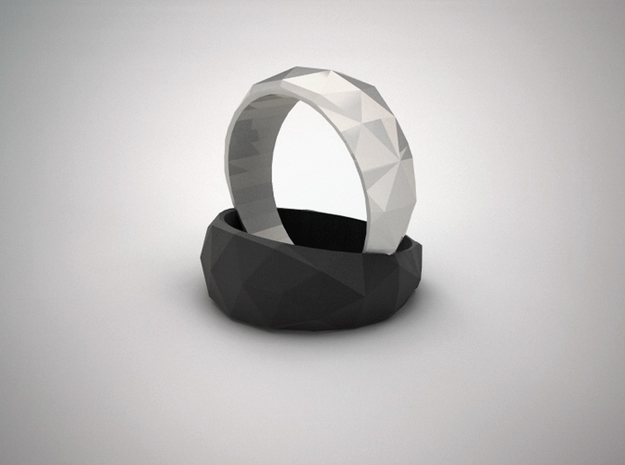 Edra Ring - 6.75 in White Natural Versatile Plastic
