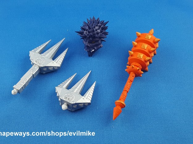200X Spike Set in White Strong & Flexible Polished