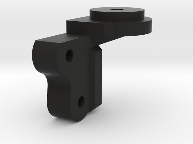 CMAX+SCX2 axle Rear Left Coil Bucket in Black Natural Versatile Plastic