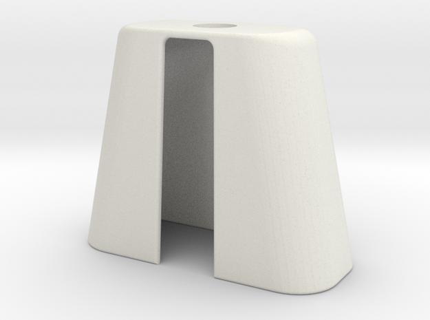Cape2 in White Natural Versatile Plastic