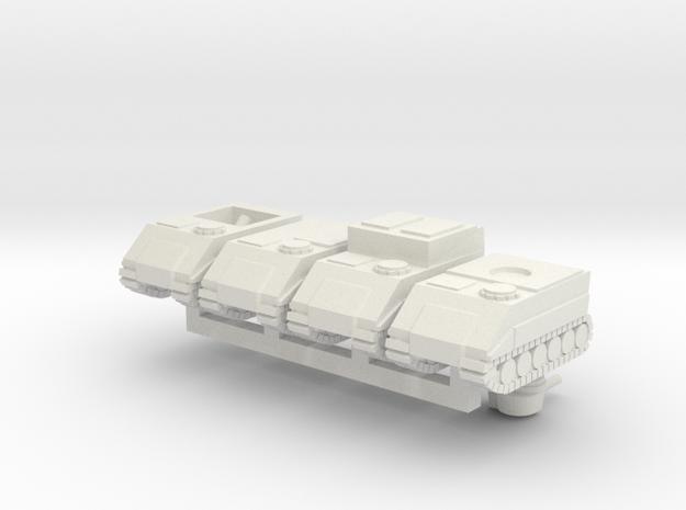 Badger MKIII HQ Squadron in White Natural Versatile Plastic