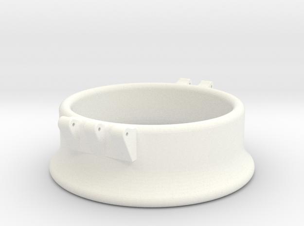 Ccage-bell 47-20 in White Processed Versatile Plastic