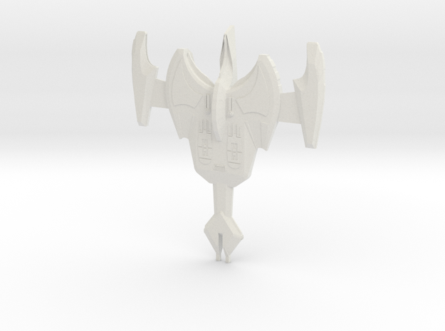 K'Char Class Destroyer 3d printed