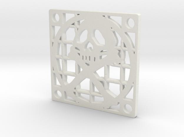 Fan Grille 30x30 Pyrat in White Natural Versatile Plastic
