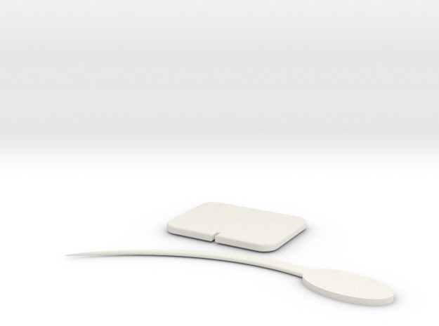 Tooth Pick in White Strong & Flexible