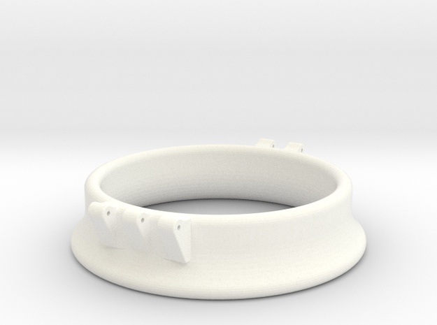 Ccage-bell 52-15 in White Processed Versatile Plastic