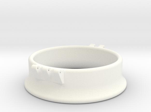 Ccage-bell 58-20 in White Processed Versatile Plastic