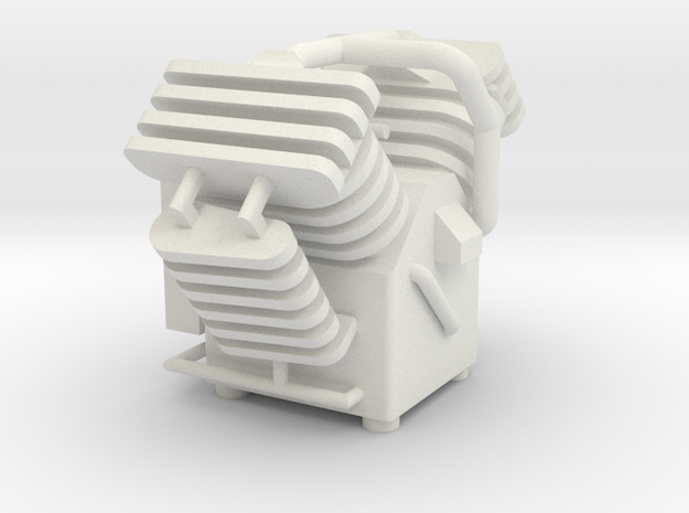 Compressor 1  1:32 in White Natural Versatile Plastic