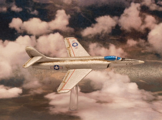 Lockheed XF-90 Pair (In Flight) 6mm 1/285 in White Natural Versatile Plastic