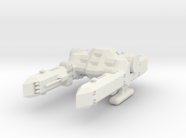 1/1000 Scale Percy Class Mid-Bulk Freighter in White Strong & Flexible
