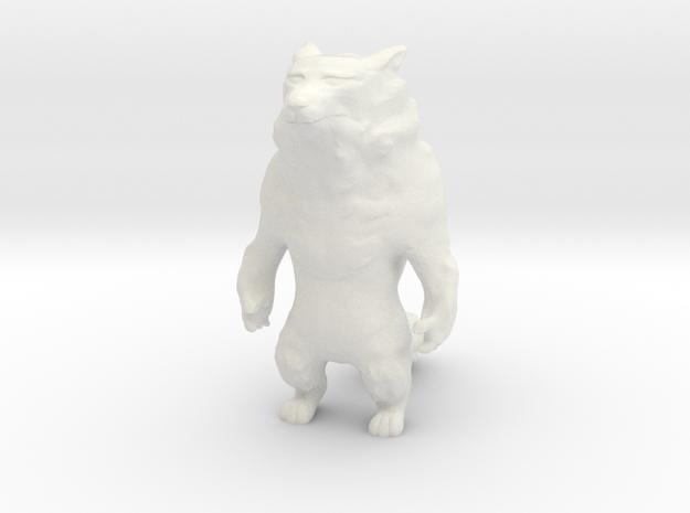 Werewolf in White Natural Versatile Plastic