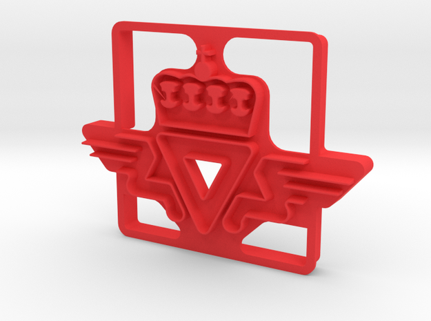 SVV Cookie Cutter in Red Strong & Flexible Polished